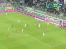 Rapid Wiedeń 0:2 Trencin
