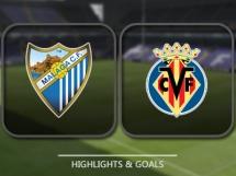 Malaga CF 0:2 Villarreal CF