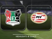 NEC Nijmegen 0:4 PSV Eindhoven