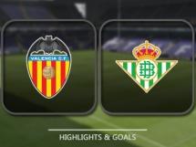 Valencia CF 2:3 Betis Sewilla