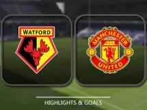 Watford 3:1 Manchester United