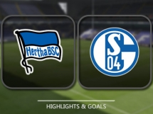 Hertha Berlin 2:0 Schalke 04