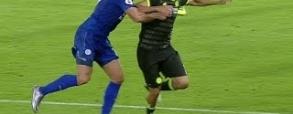 Diego Costa powalony! Wasilewski z czerwoną kartką!