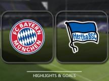 Bayern Monachium 3:0 Hertha Berlin