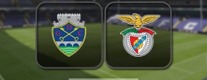 Chaves 0:2 Benfica Lizbona