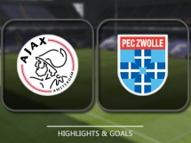 Ajax Amsterdam 1:0 PEC Zwolle