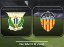 Leganes 1:2 Valencia CF