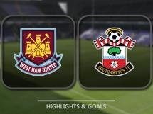 West Ham United 0:3 Southampton