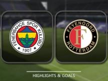 Fenerbahce 1:0 Feyenoord