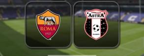 AS Roma 4:0 Astra Giurgiu
