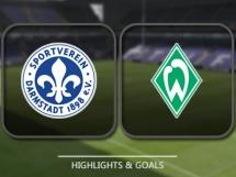 SV Darmstadt 2:2 Werder Brema