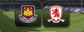 West Ham United 1:1 Middlesbrough