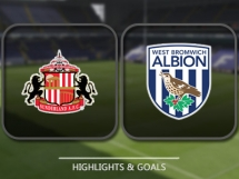Sunderland 1:1 West Bromwich Albion