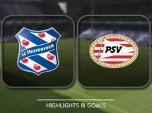 Heerenveen 1:1 PSV Eindhoven