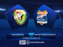Śląsk Wrocław 1:2 Termalica Bruk-Bet Nieciecza