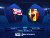 Cracovia Kraków 6:0 Korona Kielce