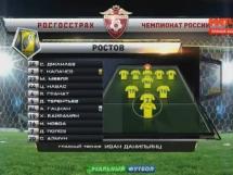 FK Rostov 2:0 CSKA Moskwa