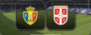 Mołdawia 0:3 Serbia