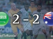 Arabia Saudyjska 2:2 Australia