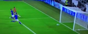 Fatalny błąd Buffona z Hiszpanią