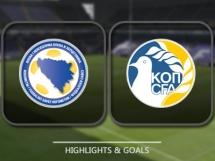 Bośnia i Hercegowina 2:0 Cypr