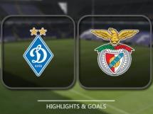 Dynamo Kijów 0:2 Benfica Lizbona