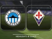 Slovan Liberec 1:3 Fiorentina