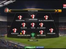 Feyenoord 1:0 Zoria Ługańsk