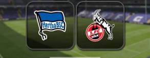 Hertha Berlin 2:1 FC Koln