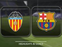 Valencia CF 2:3 FC Barcelona