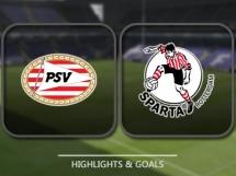 PSV Eindhoven 1:0 Sparta Rotterdam
