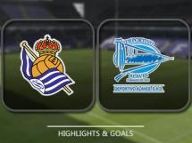 Real Sociedad 3:0 Deportivo Alaves