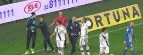 Burić walczy z Malarzem! Emocje w meczu Legia - Lech!