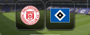 Hallescher 0:4 Hamburger SV