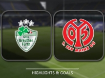 Greuther Furth 2:1 FSV Mainz 05