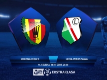 Korona Kielce 2:4 Legia Warszawa