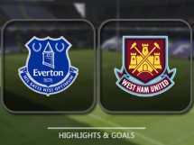 Everton 2:0 West Ham United