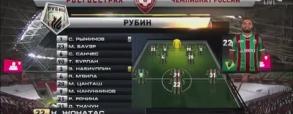Rubin Kazan 2:0 Lokomotiw Moskwa