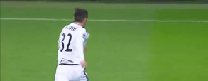Radović strzela na 2-2 z Realem!
