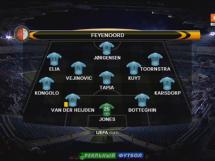 Zoria Ługańsk 1:1 Feyenoord