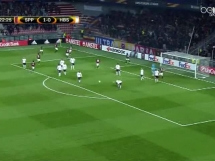 Sparta Praga 2:0 Hapoel Be'er Szewa