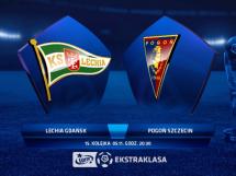 Lechia Gdańsk 1:1 Pogoń Szczecin