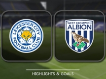 Leicester City 1:2 West Bromwich Albion