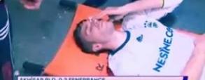Fatalna kontuzja van Persiego! Holender może stracić oko