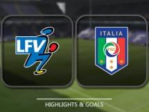 Liechtenstein 0:4 Włochy