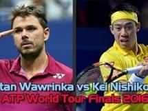 Stanislas Wawrinka 0:2 Kei Nishikori