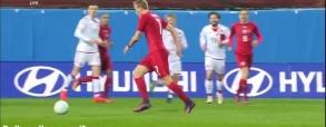 Czechy 1:1 Dania