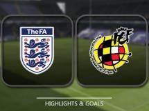 Anglia 2:2 Hiszpania