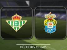 Betis Sewilla 2:0 Las Palmas