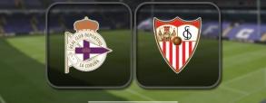 Deportivo La Coruna 2:3 Sevilla FC